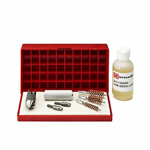 Hornady Case Care Kit Ammo Reloading Accessories Tray Lubricant Neck Brush