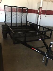 2018 5 x8 x1 Utility Trailer W Mesh Floor Easy Clean We Manufacture
