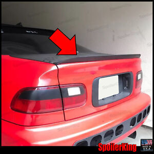 Spoilerking Rear Trunk Spoiler Duckbill 284g Fits Honda Civic 1992 95 2 4dr