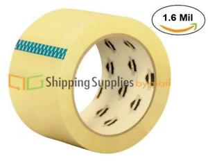 Clear Carton Sealing Packing Tape 1 6 Mil 110 Yds 330 Ft Choose Your Rolls