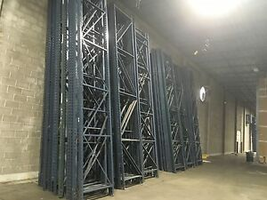 Pallet Rack Racking Racks Warehouse Sturdi Built Industrial Uprights 20 x44