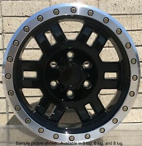4 New 16 Wheels Rims For Ford E Series Vintage Sedan Coupe Jeep Cj5 4wd 29012