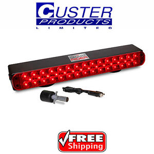 Custer Lite It Smart Rider Wireless Led Tow Light Magnetic Rechargeable Liwsr1