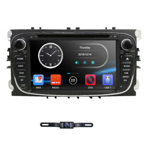 Car Dvd Player Gps Navigation Radio For Ford Mondeo Focus S Max 2007 2011 Camera
