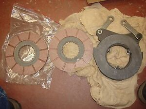 New Huber F1500m Road Maintainer Grader Tractor Multiple Brake Disc Kit s5 8
