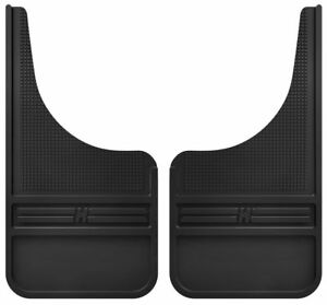 Husky Muddog Front Mud Guards Flaps For Ford F150 F250 F350 Black No Ss Weight