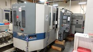 Mori Seiki Sh 40 Horizontal Machine Center Fanuc Control