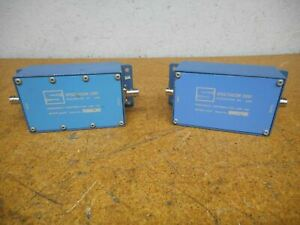 Spectracom 8140t Frequency Distribution Line Tap Used With Warranty lot Of 2
