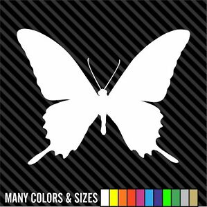 Butterfly Decals Sticker Vinyl Car Truck Window Choice Of Sizes Colors