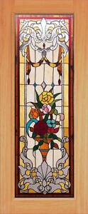 Beautiful Stained Glass Custom Entry Or Interior Door Jhl165