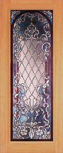 Beautiful Stained Glass Custom Entry Or Interior Door Jhl163