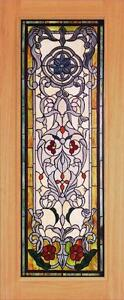 Beautiful Stained Glass Custom Entry Or Interior Door Jhl162