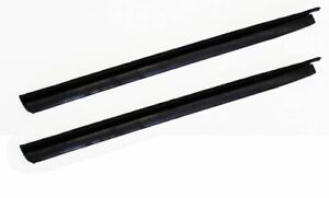 New 1969 Ford Mustang Quarter Window Weatherstrip Seal Coupe Convertible Pair