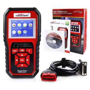 Obd2 Obdii Eobd Car Code Reader Diagnostic Scan Automotive Tool Fault Scanner Us