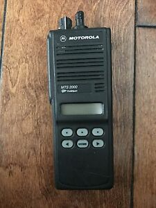 Motorola Mts 2000 Uhf1 403 470 radio Only Includes Programming