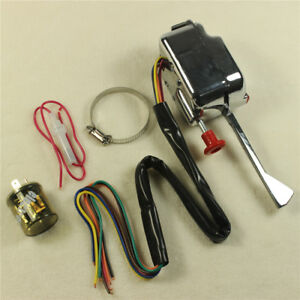 Fit Gm Ford With Flasher 12v Street Hot Rod Turn Signal Switch Chrome Universal
