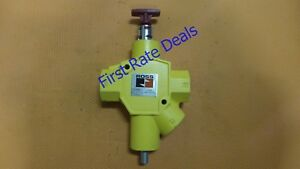 Ross Controls Y1523c8002 Manual Lockout L o x Valve 1 1 2 Npt Pneumatic Air New