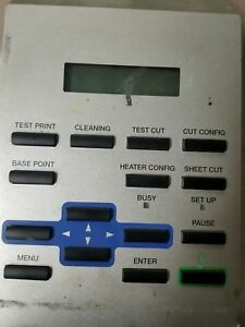 Roland Sp 300v Main Control Panel Sp300v Sp300 Buttons Display Lcd