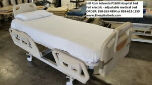 5 Hill Rom Advanta P1600 Hospital Beds Full Electric Adjustable Package Deal