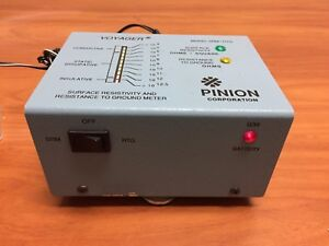 Pinion Voyager Srm rtg Surface Resistivity And Resistance To Ground Meter