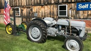 1941 Ford 9n Tractor With Hay Mower
