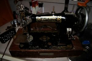 White Rotary Sewing Machine Antique Whites Sewing Machine