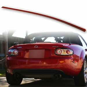Custom Painted Rear Trunk Lip Spoiler For Mazda Mx 5 Miata Nc 05 15