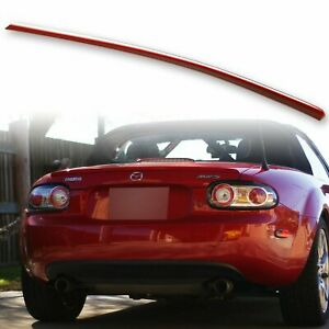 Custom Painted Trunk Lip Spoiler For Mazda Mx 5 Miata Nc 05 15