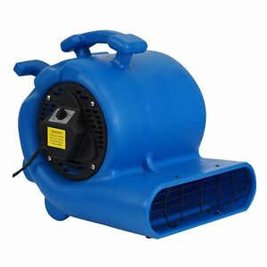 Mounto 3 4hp 3000 Air Mover Carpet Floor Dryer With Handle And Wheel Kit