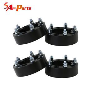 4 2 0 Inch 5x5 5 To 5x5 5 Wheel Spacers 1 2 Fit Ford Bronco Jeep Cj Dodge