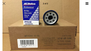 Engine Oil Filter Acdelco Pf63e 19330000 One Case Of 12 Pf63