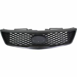New Ki1200141 Grille Insert With Emblem Provision For Kia Forte 2010 2013