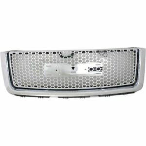 New Gm1200631 Grille For Gmc Sierra 1500 2007 2012