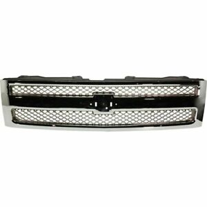 New Gm1200655 Grille Assembly Plastic For Chevrolet Silverado 1500 2007 2013