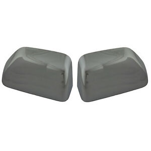 Oem New 2017 Ford Super Duty Chrome Mirror Cover Cap Set Left Right Both Pair