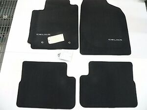 2003 2005 Celica Gt Gts Charcoal Carpet Floor Mats 4 Piece Genuine Oem