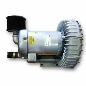 Used 215 Cfm 105 Sp 5 Hp Gast Idex Regenair Regenerative Blower R635oa 2