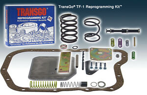 Transgo Tf 1 A904 Tf6 904 A727 Tf8 727 Reprogramming Kit 1960 on Torqueflite 6 8