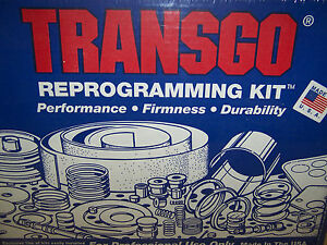 Transgo Tf 3 A904 Tf6 904 A727 Tf8 727 Reprogramming Kit 1966 on Torqueflite 6 8