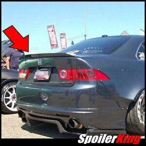 Spoilerking Rear Trunk Spoiler Duckbill 284p fits Acura Tsx 2004 2008 Cl9