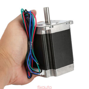 Schrittmotor Stepper Motor Nema 23 1 8 4 wires 76mm 3a 270oz in1 8nm Bipolar Ny6
