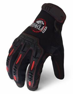 Ironclad Yrl imp 02 s Redline Impact Gloves Small Black
