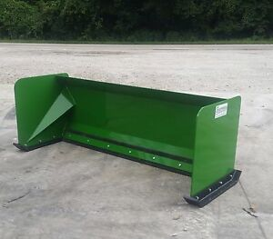 7 John Deere Standard Snow Pusher Box Free Shipping Skid Steer Loader Tractor