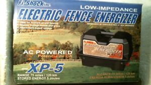 Woodstream Fi shock Xp 5 Electric Fence Energizer Free Shipping