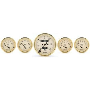 Autometer Gauge Set 1501 Golden Oldies Street Rod Kit Free Shipping