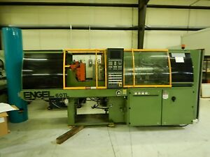 Engel Es200 60 Tl Used Injection Molding Machine 60tons Yr 1997 2 2 Oz 7554