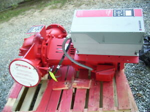 Armstrong Fire Pump Unit New 4300tc With 4300vs 10 0610 2200 Pump 1839 00