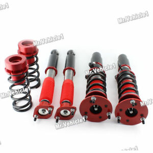Full Coilover Adjustable Suspension Kit Fit Bmw E46 3 Series 325ci 328i 325i