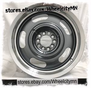 17 Inch Chevrolet Rally Oe Replica Wheels American Muscle Ford Ranchero 5x4 5 0