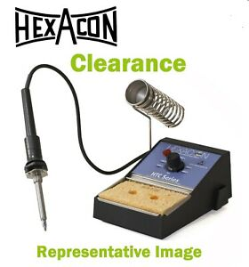 Hexacon Mini Soldering Station Htr 3310 Temp Controlled 350 850 Clearanc